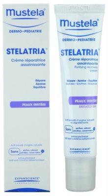 Mustela Dermo-Pédiatrie Stelatria regenerierende Creme Für irritierte Haut 1