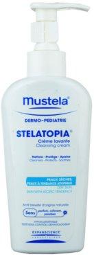 Mustela Dermo-Pédiatrie Stelatopia creme de limpeza para pele sensível e atópica