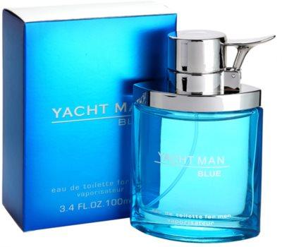 Myrurgia Yacht Man Blue Eau de Toilette para homens 1