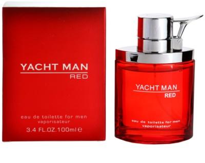 Myrurgia Yacht Man Red eau de toilette férfiaknak