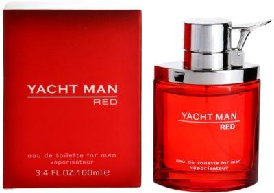 Myrurgia Yacht Man Red Eau de Toilette para homens
