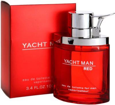 Myrurgia Yacht Man Red eau de toilette férfiaknak 1