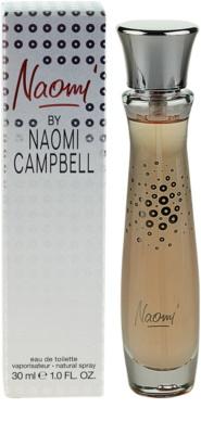 Naomi Campbell Naomi Eau de Toilette para mulheres
