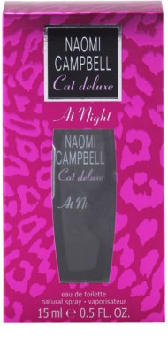 Naomi Campbell Cat deluxe At Night eau de toilette nőknek 3