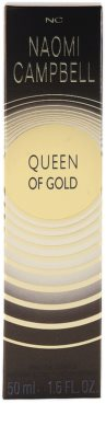 Naomi Campbell Queen of Gold Eau de Toilette für Damen 4