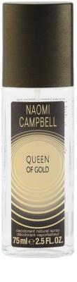 Naomi Campbell Queen of Gold Deo mit Zerstäuber für Damen