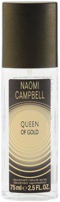 Naomi Campbell Queen of Gold dezodorant z atomizerem dla kobiet