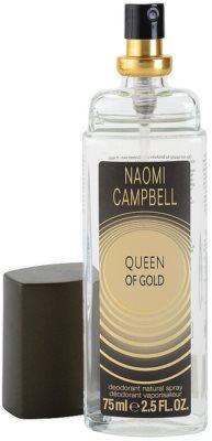 Naomi Campbell Queen of Gold Deo mit Zerstäuber für Damen 1