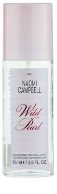Naomi Campbell Wild Pearl deodorant s rozprašovačom pre ženy