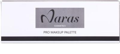 Naras Palette paleta dekorativní kosmetiky se zrcátkem 2