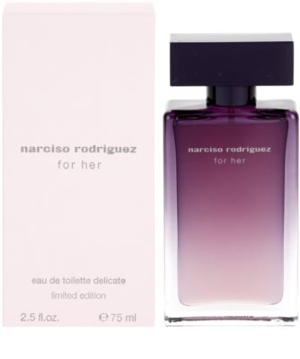 Narciso Rodriguez For Her Delicate Limited Edition eau de toilette para mujer