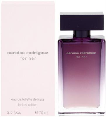Narciso Rodriguez For Her Delicate Limited Edition woda toaletowa dla kobiet
