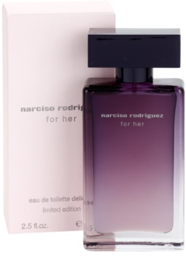 Narciso Rodriguez For Her Delicate Limited Edition eau de toilette para mujer 1