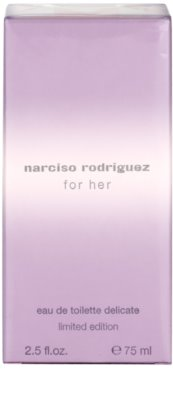 Narciso Rodriguez For Her Delicate Limited Edition eau de toilette para mujer 4