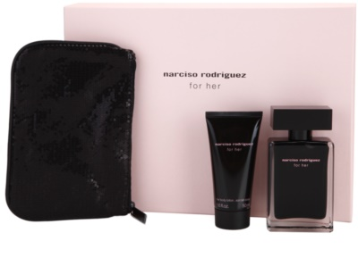 Narciso Rodriguez For Her coffrets presente