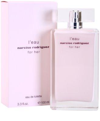 Narciso Rodriguez L´Eau For Her Eau de Toilette für Damen 1