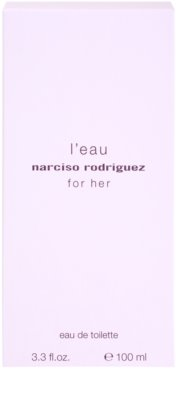 Narciso Rodriguez L´Eau For Her тоалетна вода за жени 4