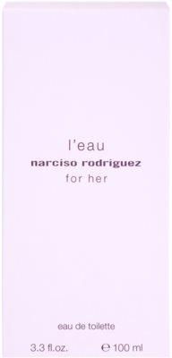 Narciso Rodriguez L´Eau For Her Eau de Toilette für Damen 4