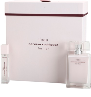Narciso Rodriguez L´Eau For Her coffret presente