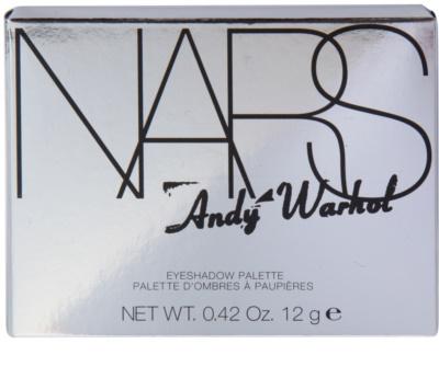 Nars Andy Warhol paleta de sombras de ojos 2