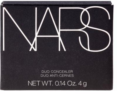 Nars Duo Cocealer палитра коректори 2