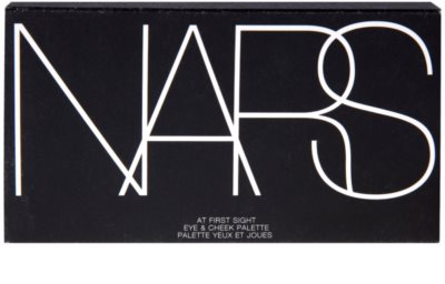 Nars Eye & Cheek Palette paleta de sombras de ojos y coloretes 1