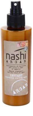 Nashi Argan незабавно хидратираща и стилизираща маска с арганово и ленено масло за всички видове коса 1