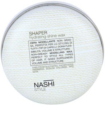 Nashi Style cera de pelo con efecto humectante