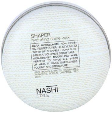 Nashi Style modelujący wosk  do włosów o dzłałaniu nawilżającym