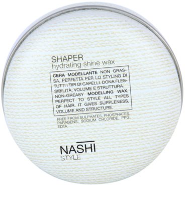 Nashi Style vosk na vlasy s hydratačním účinkem