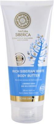 Natura Siberica Active Organics manteiga corporal  anticelulite