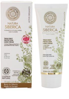 Natura Siberica Active Organics ochranný krém na ruce 1