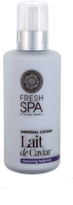 Natura Siberica Fresh Spa Imperial Caviar tisztító arctej kaviárral