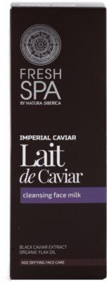 Natura Siberica Fresh Spa Imperial Caviar čisticí pleťové mléko s kaviárem 2