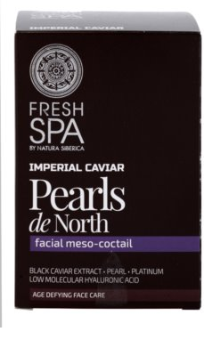 Natura Siberica Fresh Spa Imperial Caviar екстракт от хайвер за редуциране на бръчки 2