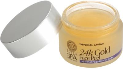 Natura Siberica Fresh Spa Imperial Caviar подмладяващ пилинг за лице  с 24 каратово злато 1