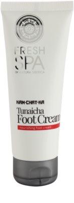 Natura Siberica Fresh Spa Kam-Chat-Ka výživný krém na nohy