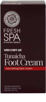 Natura Siberica Fresh Spa Kam-Chat-Ka nährende Creme für Füssen 2