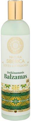 Natura Siberica Loves Lithuania hydratační balzám na vlasy