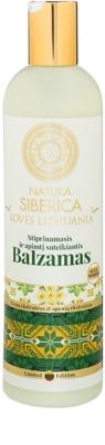 Natura Siberica Loves Lithuania krepilni balzam za lase