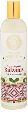 Natura Siberica Loves Latvia balsam regenerator par