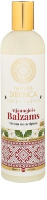Natura Siberica Loves Latvia obnovitveni balzam za lase
