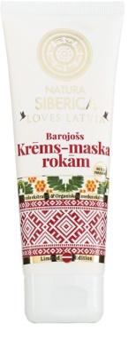 Natura Siberica Loves Latvia crema nutritiva  para manos