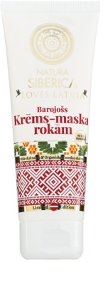 Natura Siberica Loves Latvia nährende Creme für die Hände