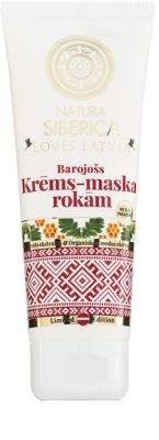 Natura Siberica Loves Latvia подхранващ крем за ръце
