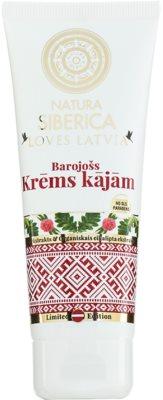 Natura Siberica Loves Latvia creme nutritivo para pernas