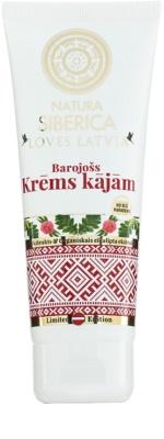 Natura Siberica Loves Latvia výživný krém na nohy