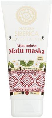 Natura Siberica Loves Latvia mascarilla regeneradora para cabello