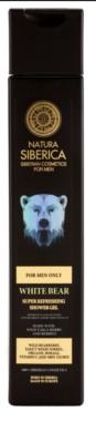 Natura Siberica Men osvežujoč gel za prhanje za moške