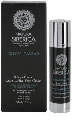 Natura Siberica Royal Caviar zpevňující pleťový krém s kaviárem 2